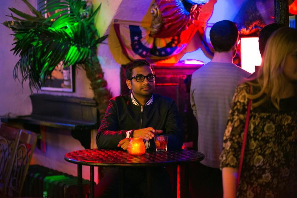"Aziz Ansari in the Netflix original series ""Master of None."""
