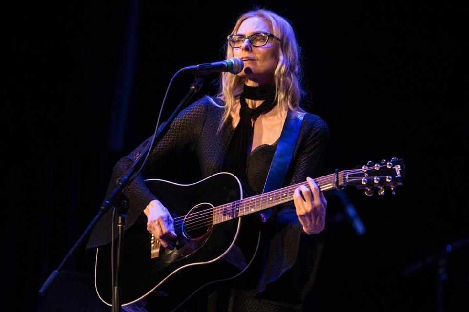 Aimee Mann (pictured in 2017) played the Cabot in Beverly Friday.