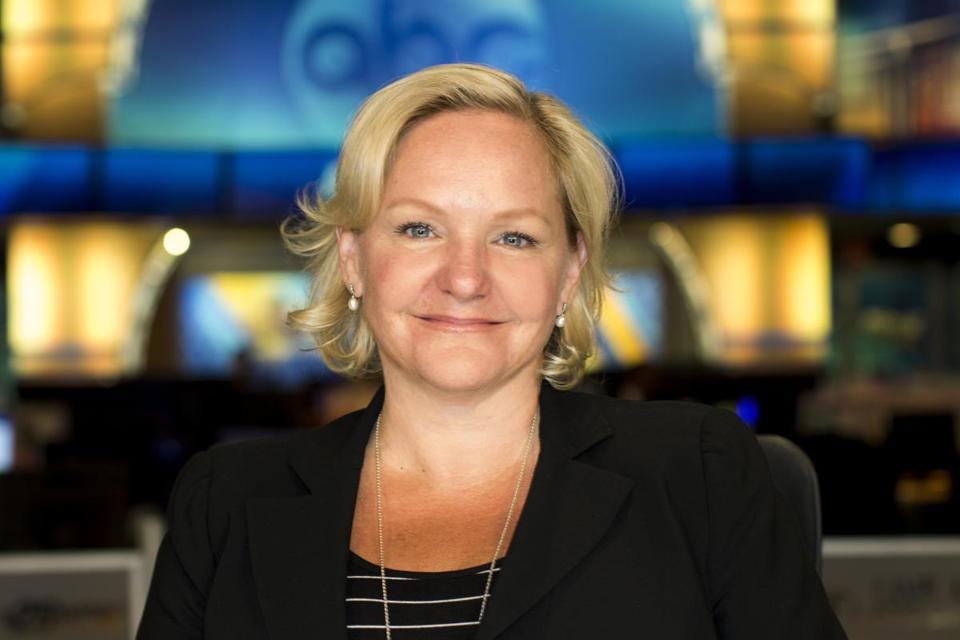 WCVB-TV news director Paige Harrison