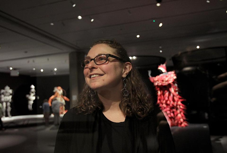 Tedi Asher has a new role at the Peabody Essex Museum: staff neuroscietist.
