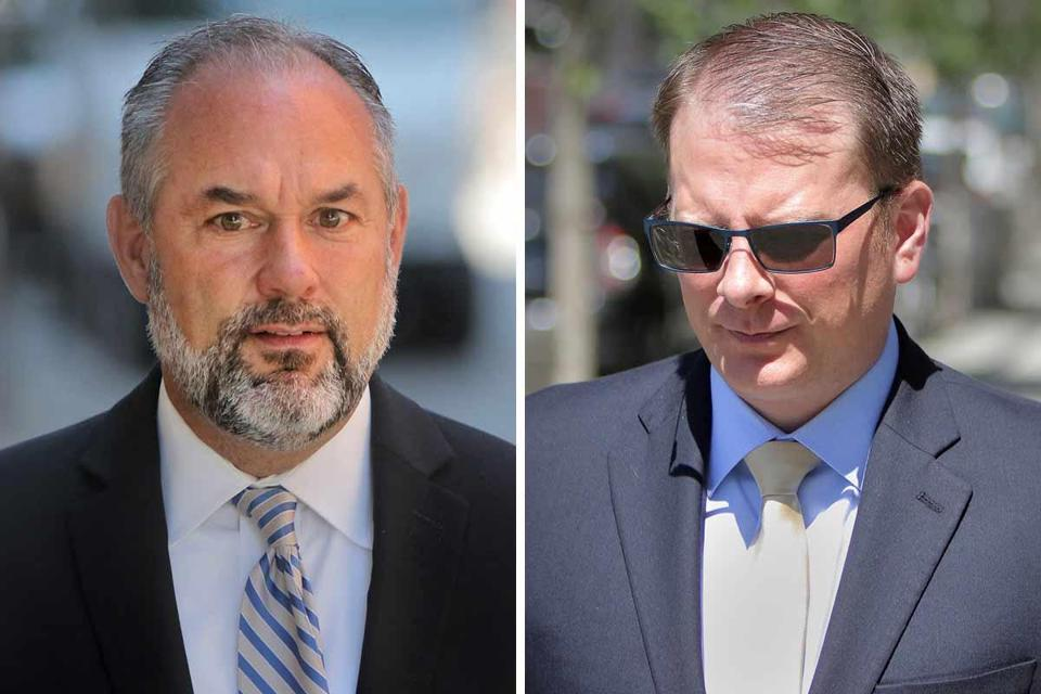 In an 11-page order, a US District Court judge ruled that the criminal case against the Kenneth Brissette (left) and Timothy Sullivan should proceed.