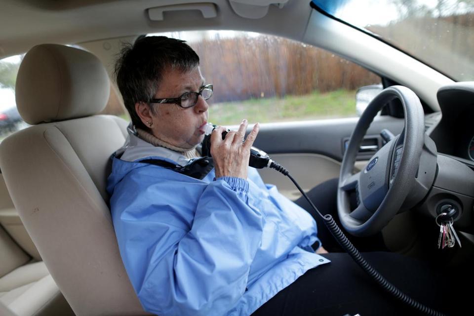 Breathalyzer In Car >> Ignition interlocks take hold as deterrent to drunken driving - The Boston Globe