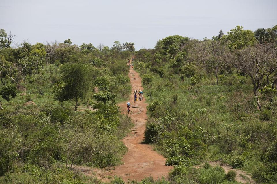 Africa refugees journey