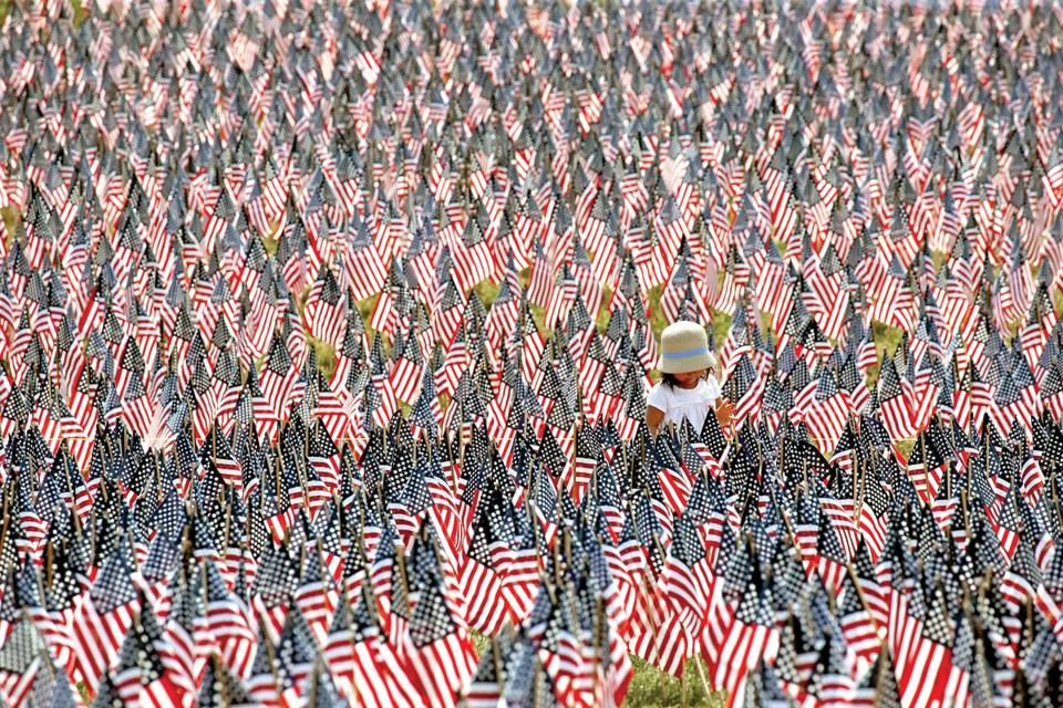 Volunteers are needed to help plant the Memorial Day Flag Garden on Boston Common.