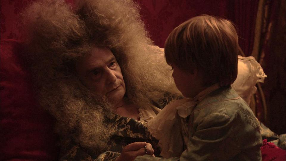 "Jean-Pierre Léaud plays the title role in ""The Death of Louis XIV."""