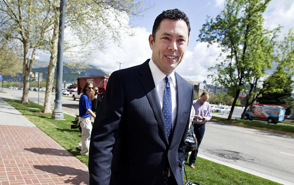 US Representative Jason Chaffetz of Utah.