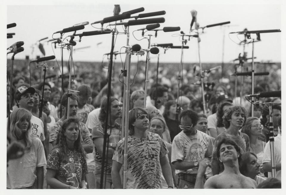 "A scene from Amir Bar-Lev's ""Long Strange Trip: The Untold Story of the Grateful Dead."""