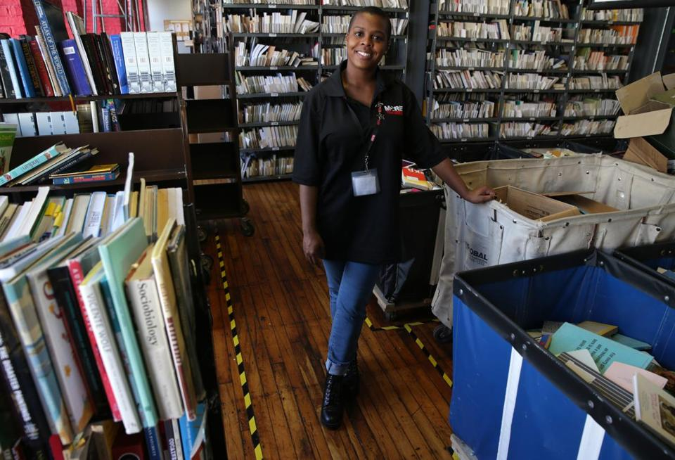 """You're free to be yourself here and grow in so many ways,'' said Phedorah, a worker at More Than Words bookstore."