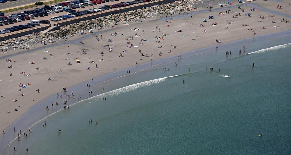 Nantasket Beach on Thursday.