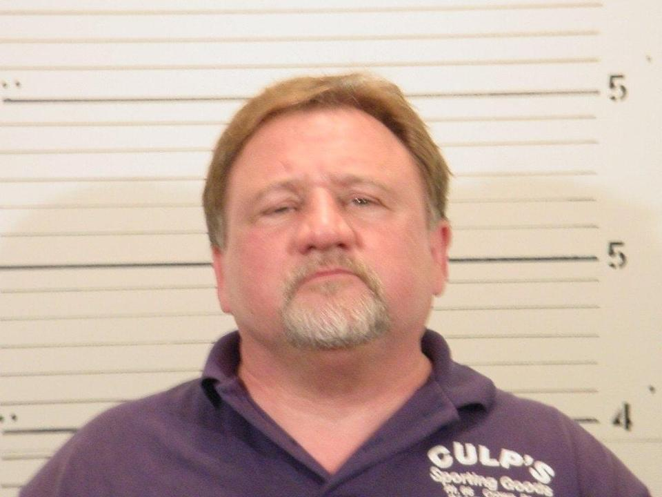 epa06028739 Handout image released by the St Clair County Sheriff's Department shows a booking photo dated 19 Febuary 2007 of James T. Hodgkinson of Belleville, Illinois. Hodgkinson is reportedly responsible for the shooting at the Eugene Simpson Stadium Park in Alexandria, Virginia, USA, 14 June 2017. The Republican House majority whip Steve Scalise and at least four others have been shot at a congressional baseball game practice session, according to media reports. Hodgkinson died in a shootout with police. EPA/FBI / HANDOUT HANDOUT EDITORIAL USE ONLY/NO SALES