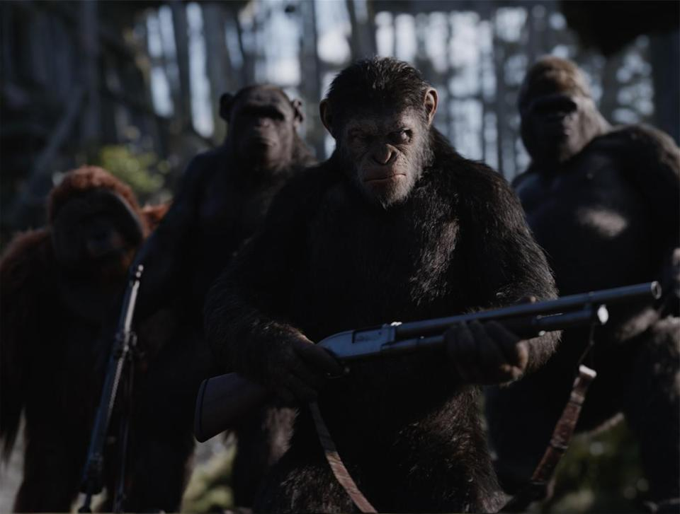 """War for the Planet of the Apes"" opens Friday."