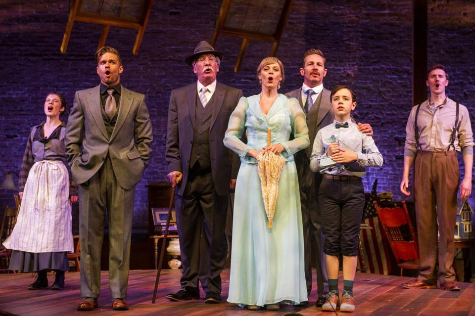 "The cast of ""Ragtime"" at Barrington Stage Company."