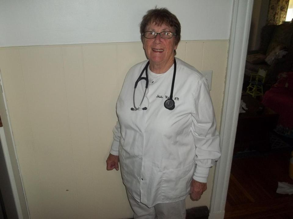 Sheila Wilson feels blessed to have what she considers the best career in the world: nursing. At 73, she has no plans to retire, and is still doing per diem jobs. 09zoBella. 7-9-17