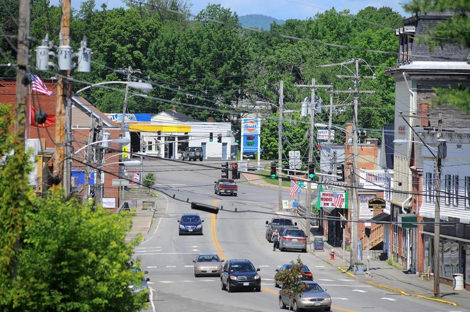 "Downtown Dover-Foxcroft, Maine, is the seat of Piscataquis County, which is one of only two counties east of the Mississippi River that still qualify as ""frontier territory."""