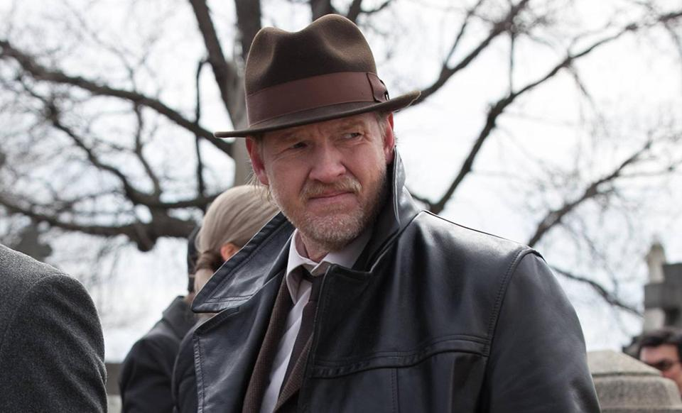"Actor Donal Logue as Detective Harvey Bullock on the Fox drama ""Gotham."""