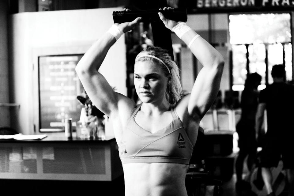 Two-time champ Katrin Davidsdottir heads to the CrossFit Games again next month to compete for $275,000.