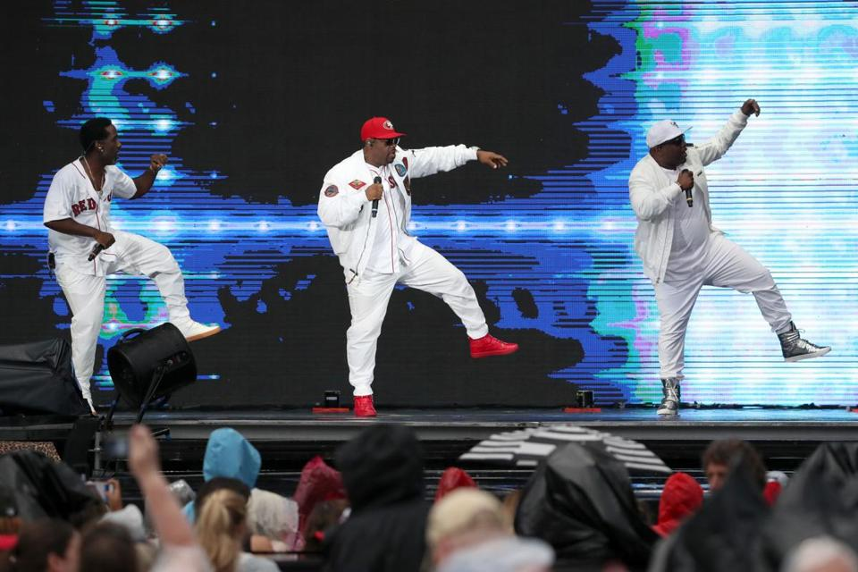 Boston MA 07/08/17 Boys II Men in concert at Fenway Park. (Matthew J. Lee/Globe staff) topic: reporter: