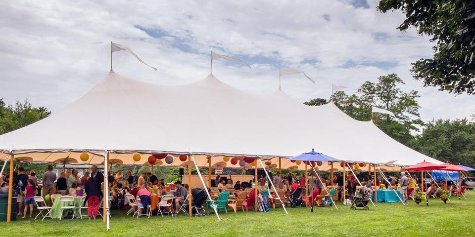 16socalendar - The Duxbury Music Festival opens with a concert under a tent. (South Shore Conservatory)