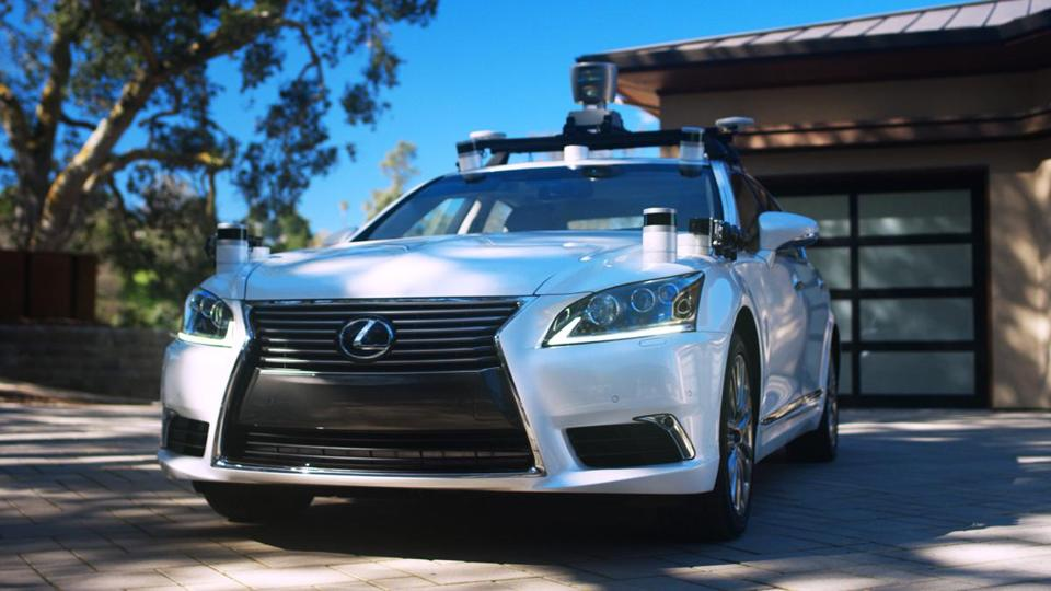 A Toyota Lexus vehicle, outfitted with self-driving technology, will be on public display Thursday night in Cambridge.