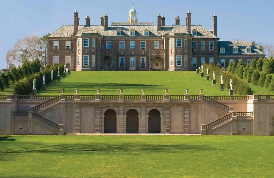 The Castle Hill mansion at the Crane Estate in Ipswich was donated by the Crane family to the Trustees of Reservations.