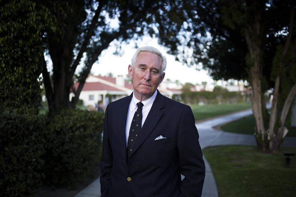 Roger Stone didn't change — the Republican party changed around him.