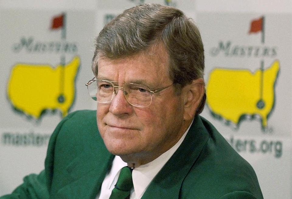 Mr. Johnson was chairman of Augusta National, home of the Masters tournament.