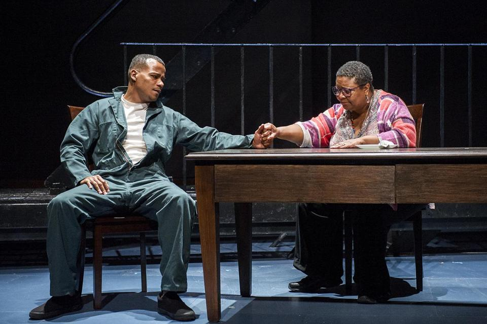 "LeRoy McClain and Myra Lucretia Taylor in ""Where Storms Are Born"" at Williamstown Theatre Festival."