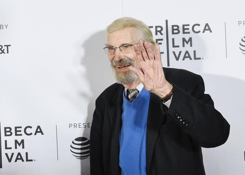 "NEW YORK, NY - APRIL 24: Actor Martin Landau attends the ""The Last Poker Game"" Premiere - 2017 Tribeca Film Festival at Regal Battery Park Cinemas on April 24, 2017 in New York City. (Photo by Mike Coppola/Getty Images for Tribeca Film Festival)"