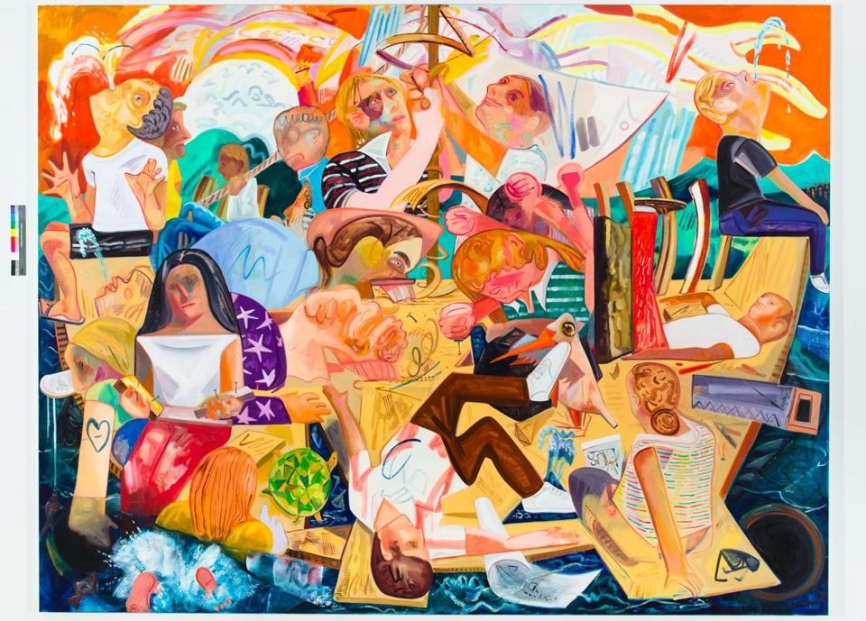 """Building the Boat While Sailing"" is part of the Institute of Contemporary Art's Dana Schutz exhibit."