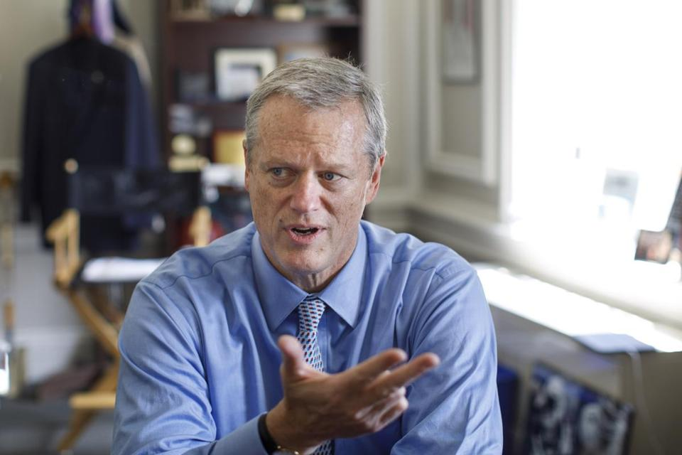Governor Charlie Baker will be one of five governors to testify.