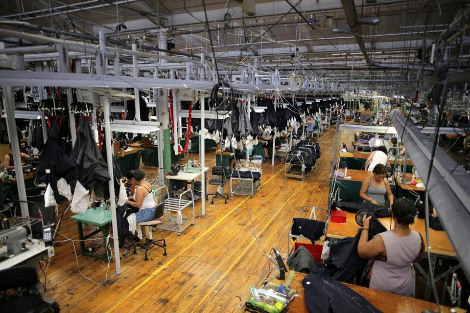 The sprawling 200,000-square-foot factory is busier than ever.