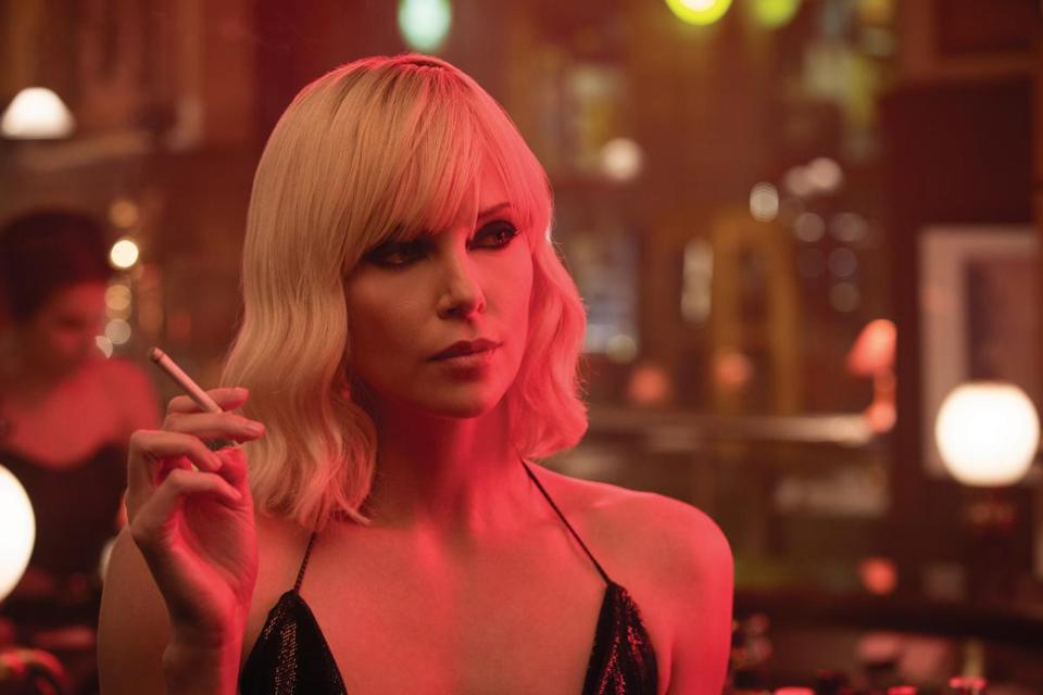 "Charlize Theron stars in ""Atomic Blonde."""