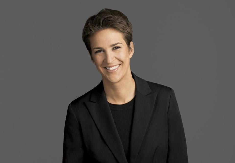 MSNBC Host Rachel Maddow Cries on Camera About Immigrant Kids