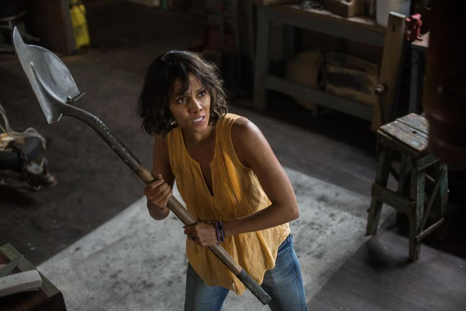 "Halle Berry stars as a mother in pursuit of her abducted child in ""Kidnap."""