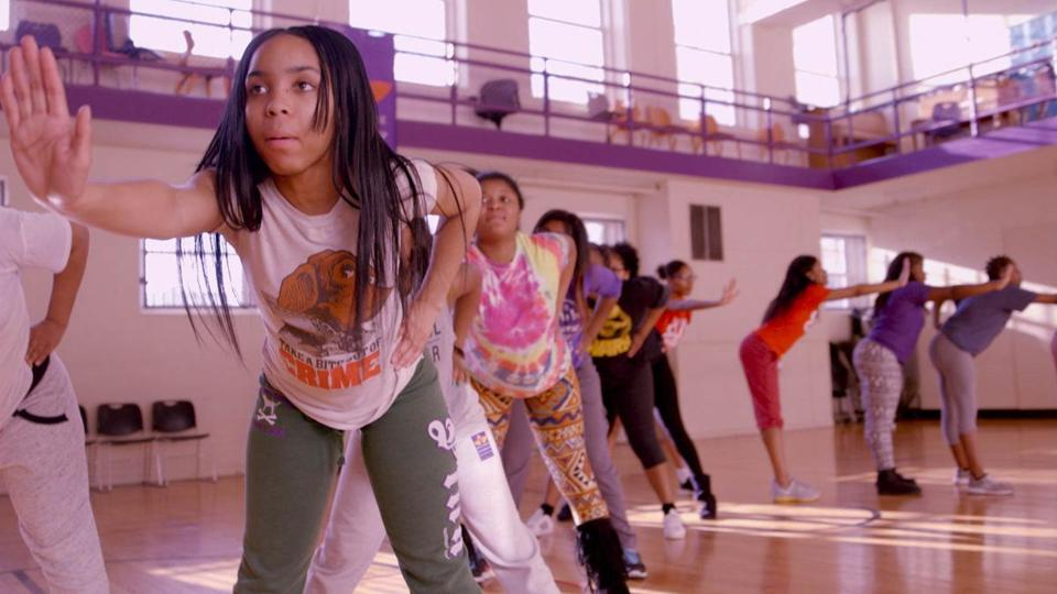 "Tayla Solomon and the Lethal Ladies in ""Step."""