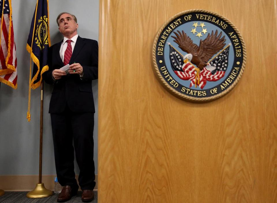 President Trump and Veterans Affairs Secretary David Shulkin (above) have encouraged more VA whistle-blowers to come forward.