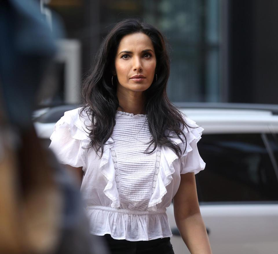 """Top Chef"" host Padma Lakshmi in Boston in 2017."