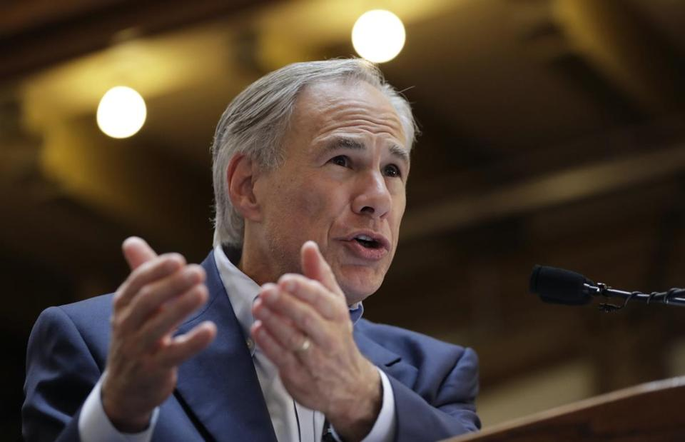 "FILE - In this July 14, 2017 file photo, Texas Gov. Greg Abbott speaks at an event where he announced his bid for re-election in San Antonio. Texas has four of the biggest cities in the U.S. and all have united against a shared opponent: Abbott, who is staking his political power on whether he can pass a ""bathroom bill,"" tax limits and other measures this summer that would choke away local control in places controlled by Democrats. (AP Photo/Eric Gay)"