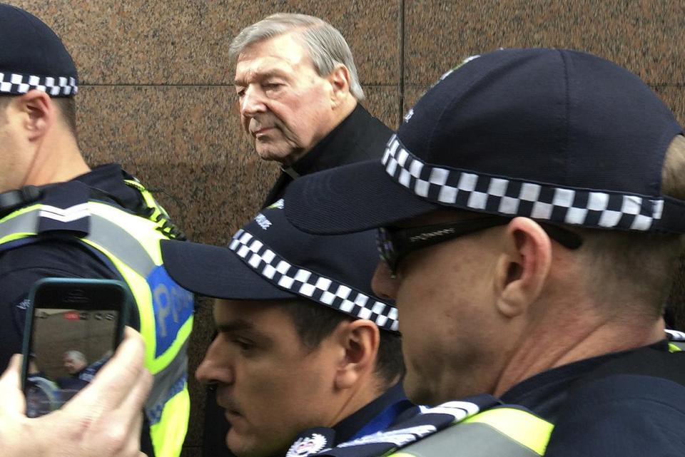 Cardinal George Pell, Australia's highest-ranking Catholic, was charged last month with sexual offenses.