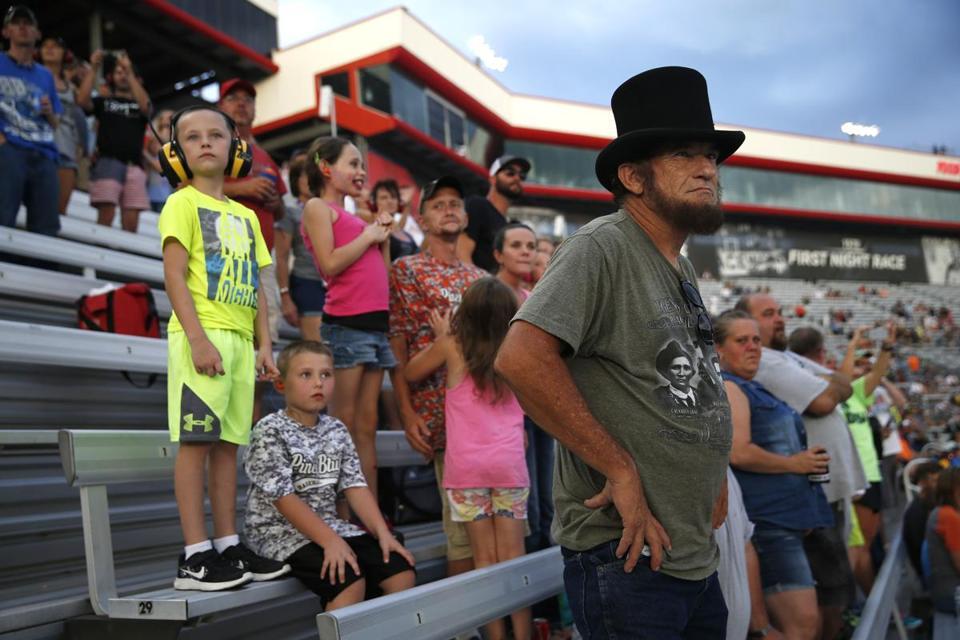 NRA night at NASCAR in Bristol, Tenn.