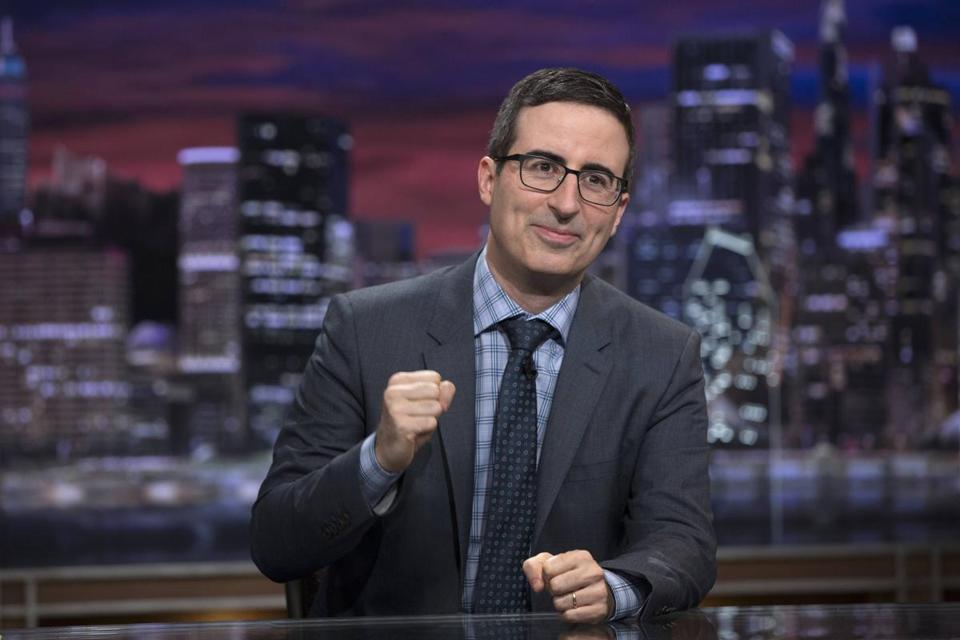 "John Oliver during a previous episode of ""Last Week Tonight"" on HBO."