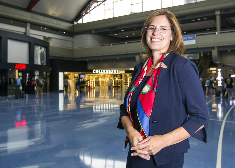 """There's a lot of us who are time-poor,"" says Christina Cassotis, CEO of the Allegheny County Airport. ""An airport that has what we need, it changes the experience."""