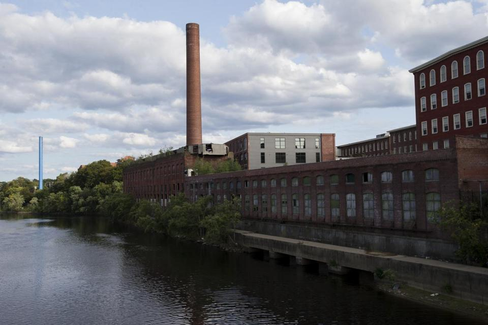 Mills along the Merrimack River were once the prime economic mover in Lowell.