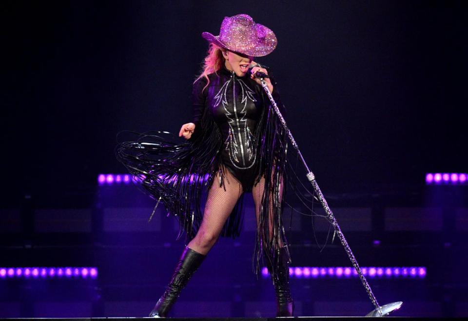 Lady Gaga (pictured in Inglewood, Calif., Aug. 8) plays Fenway Park Friday and Saturday.
