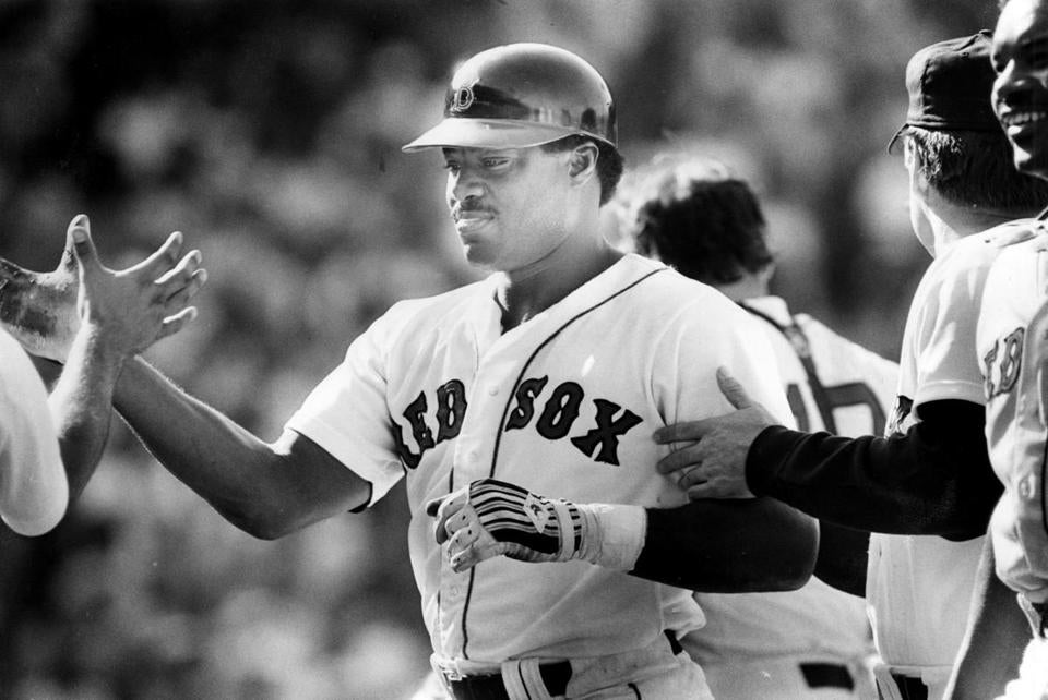 Don Baylor hit 31 home runs and knocked in 94 runs for the 1986 Red Sox.