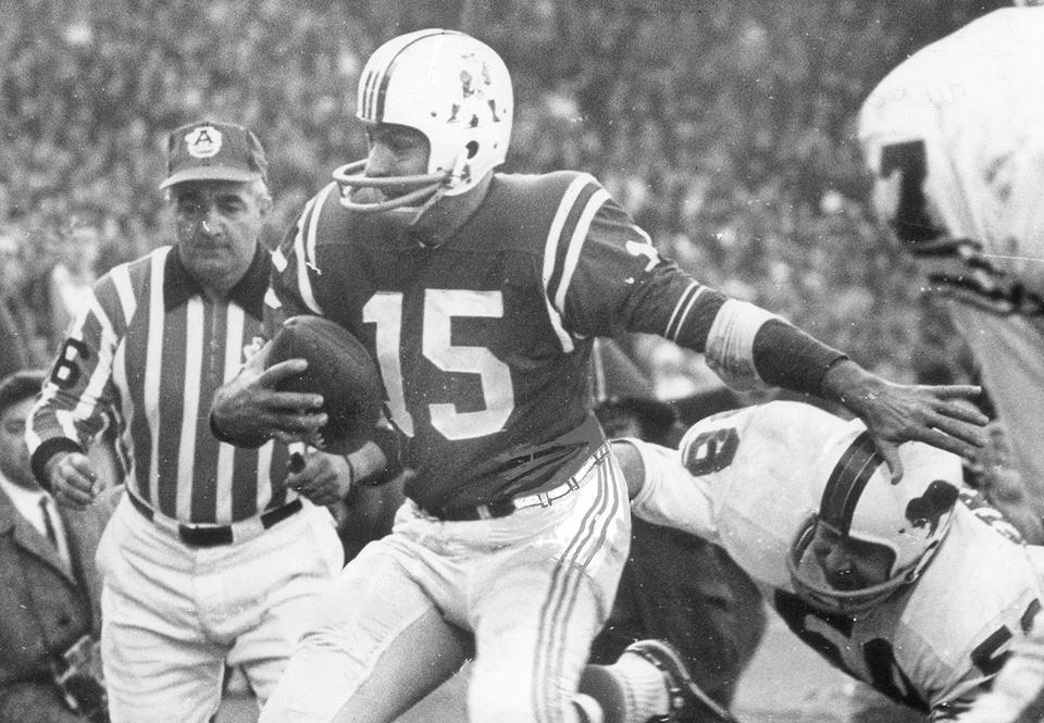 Babe Parilli went 44-32-7 as the Patriots starting quarterback from 1961-67.