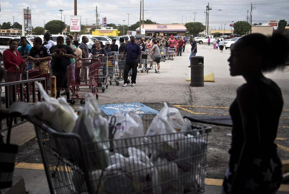 Hurricane Harvey devastates southeast Texas