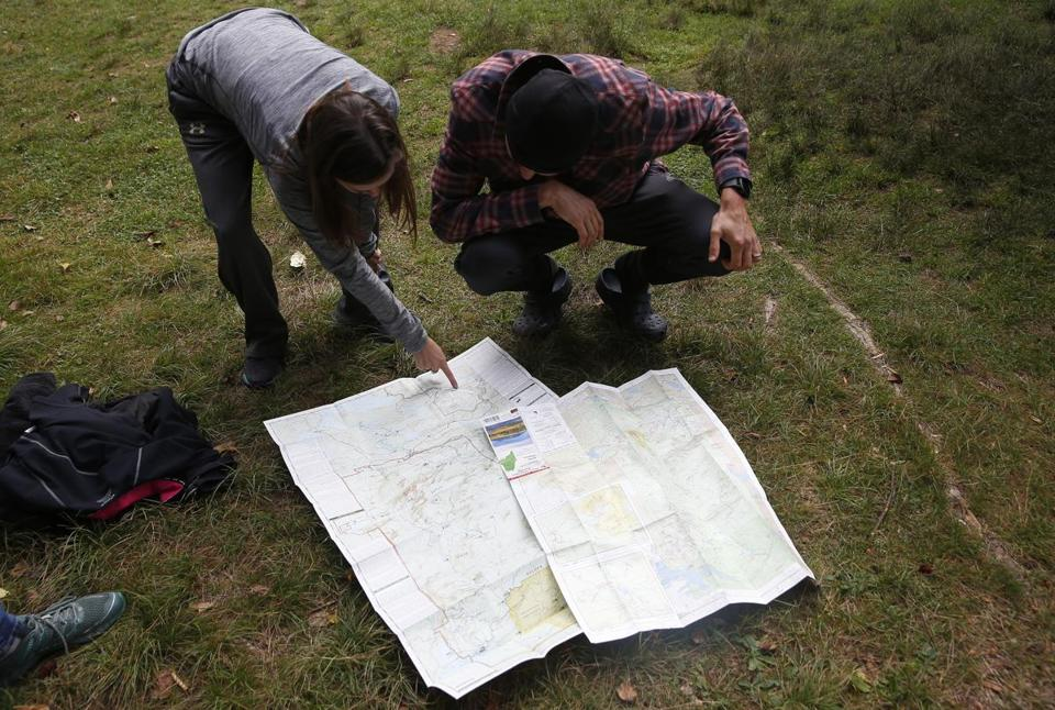 Kiracofe pointed to a map as she and Katzman tried to figure out where McConaughy might be.