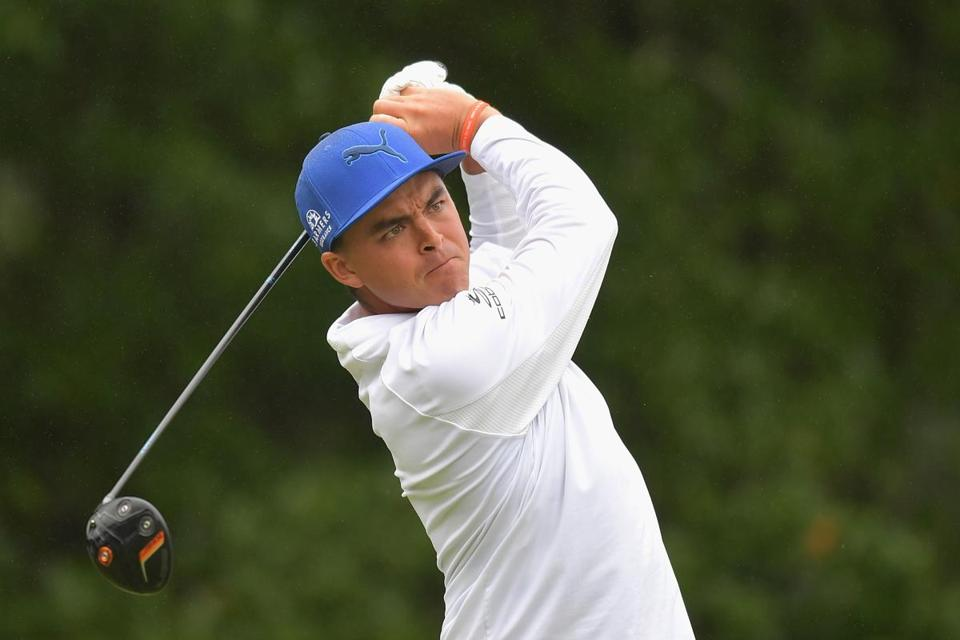 Although not a colorful as usual, Rickie Fowler fashioned a 5-under-par 66 in the third round.
