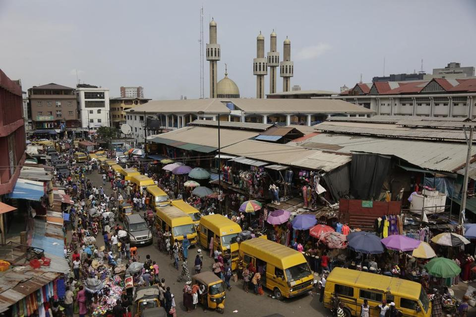 Lagos Nigeria Is Growing Fast And So Is Its Mountain
